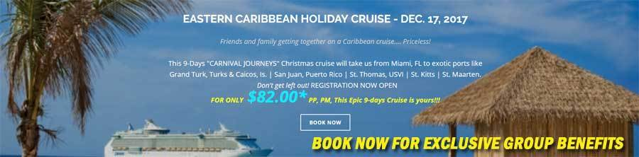 Book 2017 group cruise now